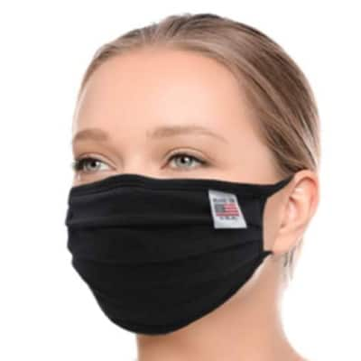 Amba7 Cotton Mouth Face Mask Made in USA 9