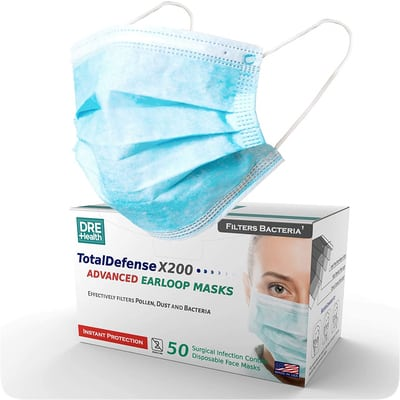 Dre Health Disposable Mask Made in USA 1