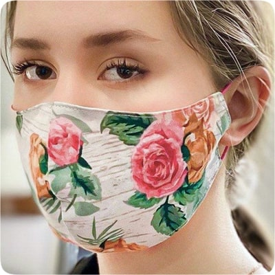Woman Etsy Face Mask Cloth Handmade