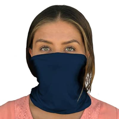 Happyluxe Face Cover, Neck Gaiter, Eco Fabric Mask, Washable, Made in the USA - Buy on Amazon