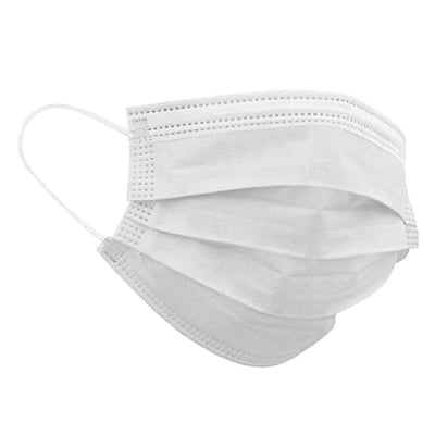 Midwest Filters White Disposable Face Masks Made in USA Buy on Amazon