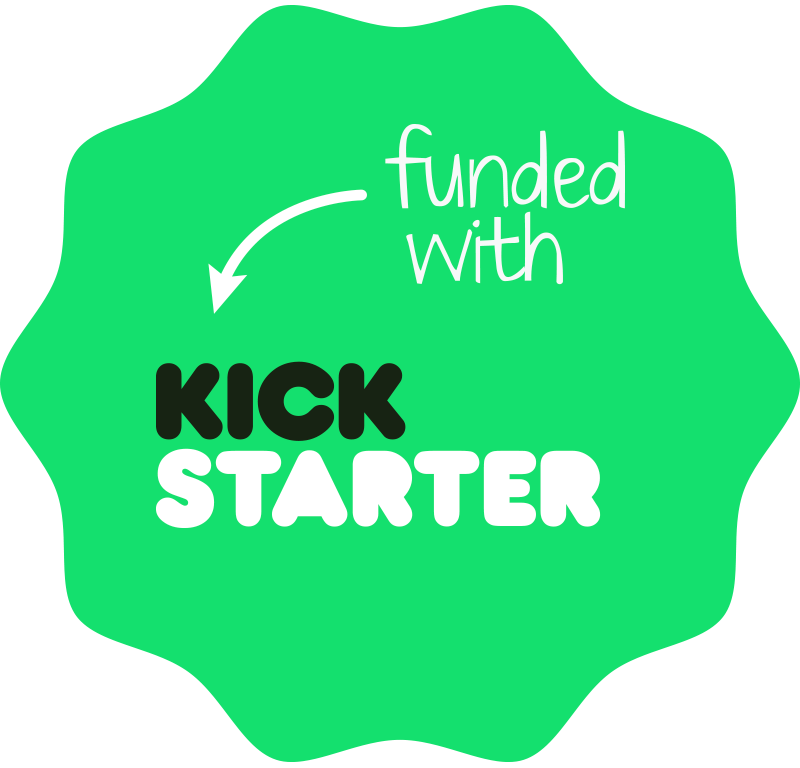 Funded with Kickstarter USA Made