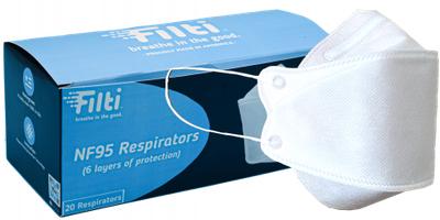 Filti N95 Respirators Made in USA Masks 1